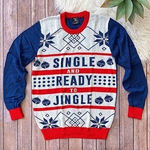 Single And Ready To Jingle Christmas Sweater